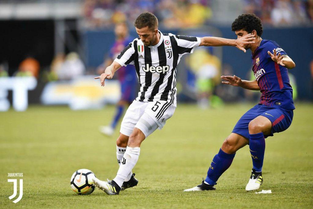 c0435fab42 (VIDEO) MIRALEM PJANIĆ odigrao poluvrijeme u porazu Juventusa od Barcelone  – BIH.ba