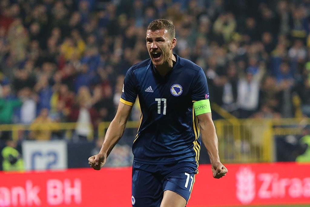Edin Džeko protiv Armenije igra 100. utakmicu u dresu BiH