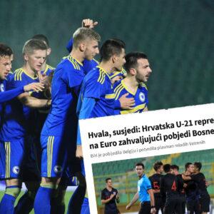Hrvatska slavi BiH, odveli smo ih na EURO