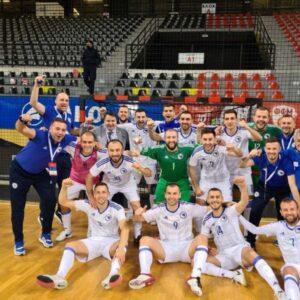 Futsal BiH pobijedila Sjevernu Makedoniju u gostima i stigla do pete pobjede u kvalifikacijama za EURO 2022